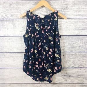 Anthropologie Sienna Sky floral tank top Small